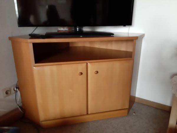 Tv Eckschrank Erle Teilmassiv In Goppingen Phono Tv Videomobel Kostenlose Kleinanzeigen Bei Quoka De