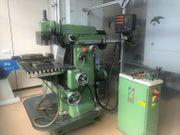 Universalfräsmaschine Bohrmaschine FP3 Deckel Maho