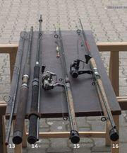 gebrauchte Forellenangeln Teichfischen