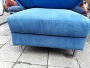 Hocker -blauer Sitz