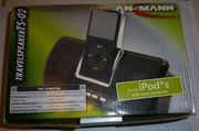 Ansmann TS-02 Tragbarer Lautsprecher Audio-Docks