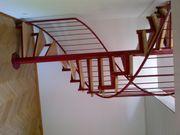 Stahltreppe mit Holzstufen Wendeltreppe Spindeltreppe