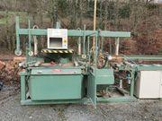 Abbundanlage - halbautomatisch - Abbund Maschine - Holz -