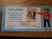 Gutschein für Playmobil-Funpark in Zirndorf