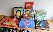7teilige Spiele - Sammlung Lernspielzeug Gesellschaftsspiele