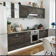 Küchenzeile 8-tlg Wenge-Look