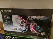 Xbox One X mit verschiedene