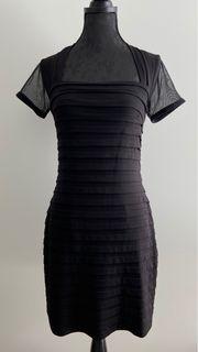 Cocktail- Kleid schwarz - Größe M