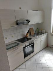Küchenzeile inkl Kühlschrank in sehr