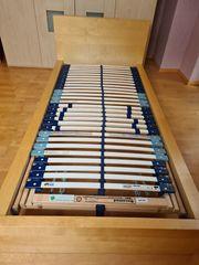 IKEA Bett mit Rahmen