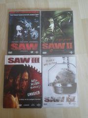 DVD SAW I-IV