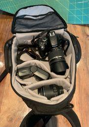Nikon D5100 mit Zubehör und