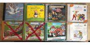 Verschiedene CD für Kinder Hörspiele -
