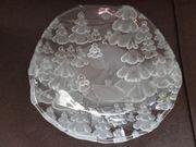 wunderbarer Glasteller neu