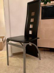 Stühle Esszimmer schwarz 4Sttück