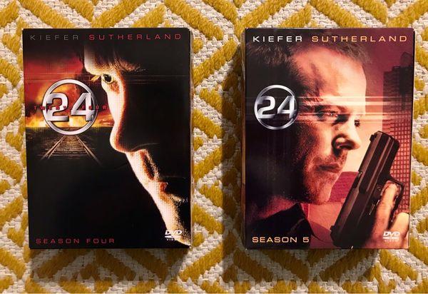 Dvd Serie 24 Kiefer Sutherland
