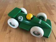 Holzauto Rennwagen Formel 1 grün