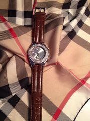 Damen Quartz- Uhr Armbanduhr mit