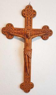 Schnitzerei Kruzifix Kreuz Cruz Jesus
