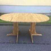 Tisch Eiche mit Tischplatte 4