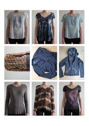 Damenbekleidung Mädchenbekleidung Blusen Pullis Jacken