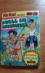 4 Lustige Comic-Taschenbücher