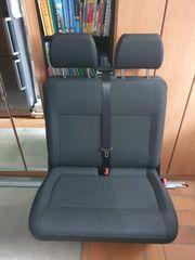 VW Bus Caravelle Beifahrer-Doppelsitzbank für