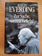 August Everding Zur Sache wenn