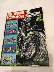 Motorrad Katalog 1974 75 Ausgabe