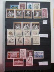 Briefmarken ÖSTERREICH Lot Sondermarken 1969-1975
