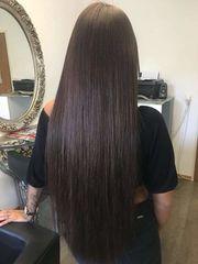 Haarverlängerung und Box Braids