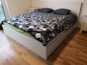 Bett von Ikea Model Malm