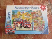Ravensburger Puzzle 3 49 Feuerwehr