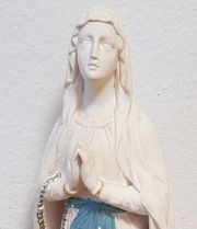 Madonna Lourdes Marienfigur Maria Mutter