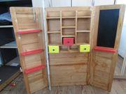 Kinder Holz Kaufmannsladen klappbar Kaufladen