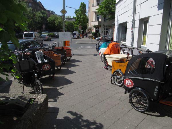 Lastenfahrrad Lastenrad Probefahrt Testfahrt