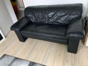 Ledersofa 2-Sitzer