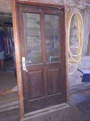 Bautüre Türe Baustellentür aus Holz