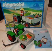 Playmobil Ladetraktor in OVP