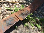 Stahlkante rostig