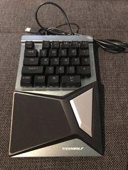 Mechanische Tastatur Titanwolf