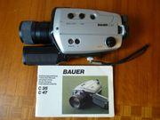 Bauer C47 Super 8 Kamera