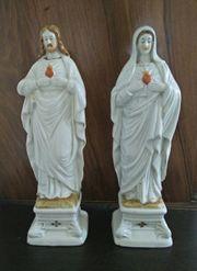Porzellan Heiligenfiguren