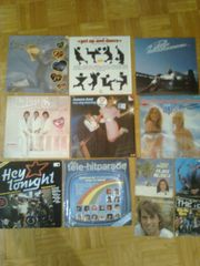 12 Schallplatten zu verkaufen