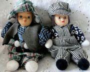 Püppchenpaar sehr dekorativ und liebevoll