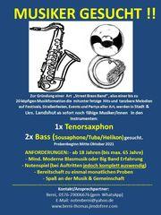 Engagierte Musiker Ts Tuba gesucht