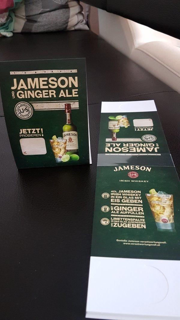 Whiskey Aufsteller gratis für Restaurants