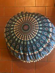 Mandala sitzkissen groß Bezug waschbar