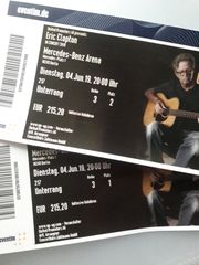 2 x Eric Clapton am