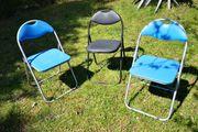 3 Klappstuhle für Küche Camping